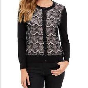 Charter Club Lace Cardigan